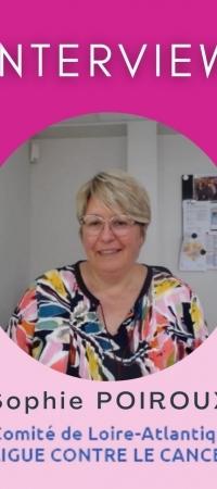 Sophie POIROUX – Directrice de la Ligue contre le cancer 44